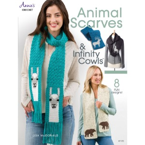 Animal Scarves & Infinity Cowls (9781640251199)